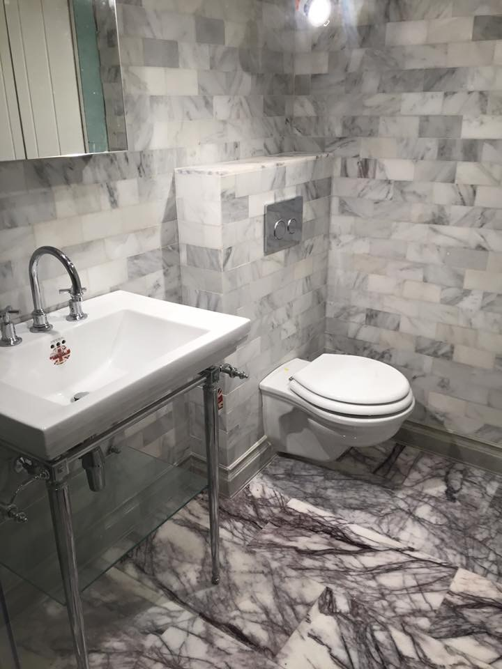 Unique bathroom install in Hastings Old Town East Sussex
